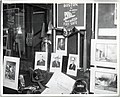 A window display advertises Mayor John F. Collins' declaration of Fire Prevention Week (13562406344).jpg
