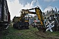 Abandoned backhoe loader manufactured by H. Weyhausen KG (As, Belgium, DSCF3141-hdr).jpg