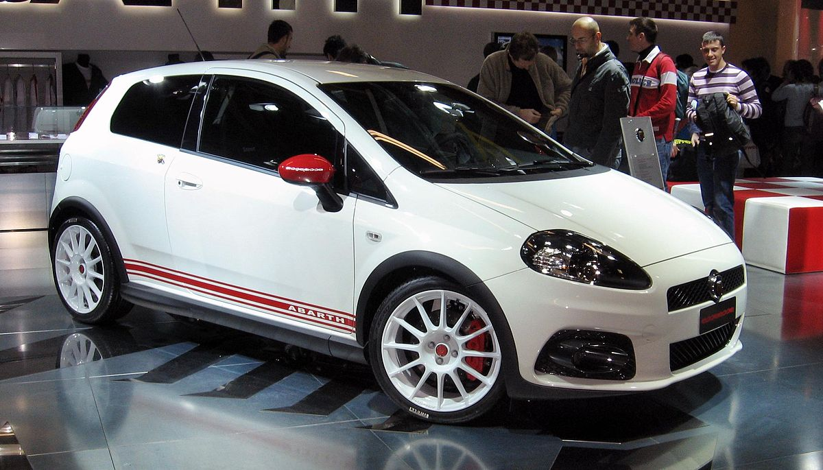 abarth grande punto wikipedia wolna encyklopedia. Black Bedroom Furniture Sets. Home Design Ideas