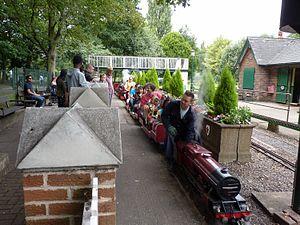 Abbey Park, Leicester - Image: Abbey Park Miniature railway