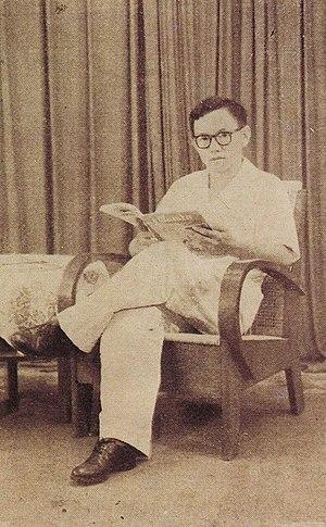 Abdurrahman Wahid - Abdurrahman Wahid in his youth, ca. 1960s