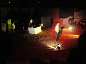 Accidental Death of an Anarchist - A 2009 production of the play at The Doon School in India