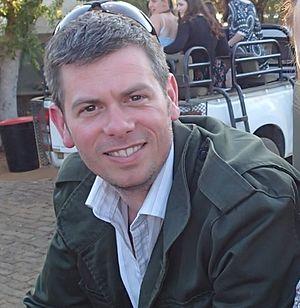 Adam Hart - Adam Hart in the field in South Africa