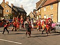 Adderbury High Street with Morris Dancers - geograph.org.uk - 1007849.jpg