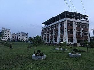Gono University - Image: Administrative Building Side View of Gono University