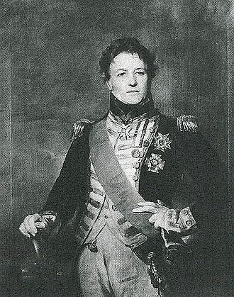 Philip Charles Durham - Portrait as a Vice Admiral (about 1820)  Artist - Sir Henry Raeburn
