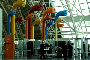 Adnan Menderes Airport - Interior view