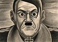 Adolf Hitler. Drawing by A.L. Tarter, 194-. Wellcome V0010666.jpg