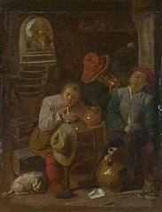 Four Peasants in a Cellar