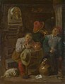 Adriaen Brouwer - Four Peasants in a Cellar NG NG NG2569.jpg