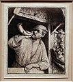 Adriaen van ostade, il fornaio che suona il corno, 1648 ca.jpg