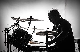 Adrian Erlandsson Swedish heavy metal drummer