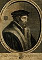 Adrianus Junius (Horna). Line engraving by C. de Visscher. Wellcome V0003156.jpg