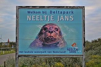 Deltapark Neeltje Jans - Image: Affiche Neeltje jans Delta Park