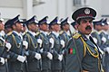 Afghan National Police (ANP) prepare a formation for designated visitors arrival (4406402619).jpg