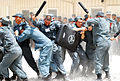 Afghan National Police Recruits Learn Baton Defense (4811301531).jpg