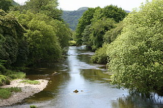 River Dwyryd River in Gwynedd, Wales