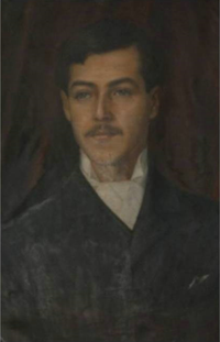 Afonso Lopes Vieira, retrato (Biblioteca Municipal).png