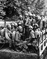 African American soldiers on 18 July 1950, 24th Infantry in Korea (cropped).jpg