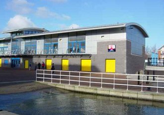 Agecroft Rowing Club - Image: Agecroftclubhouse