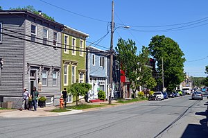North End, Halifax - Agricola Street