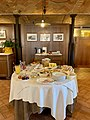 Agriturismo Cavazzone, Viano, Italy, 2019 - breakfast table.jpg