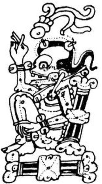 Maya death gods - God A in the lunar eclipse tables of the Dresden Codex