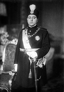 Ahmad Shah Qajar Shah of Iran