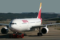 Airbus A330-302 Iberia EC-LYF (10982612305).jpg