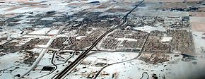 City of Airdrie  Orașul Airdrie