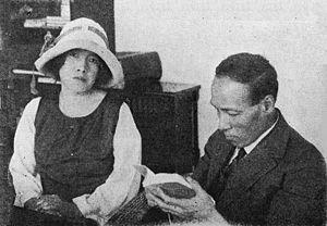Akiko Yosano - Akiko and her husband, Tekkan Yosano