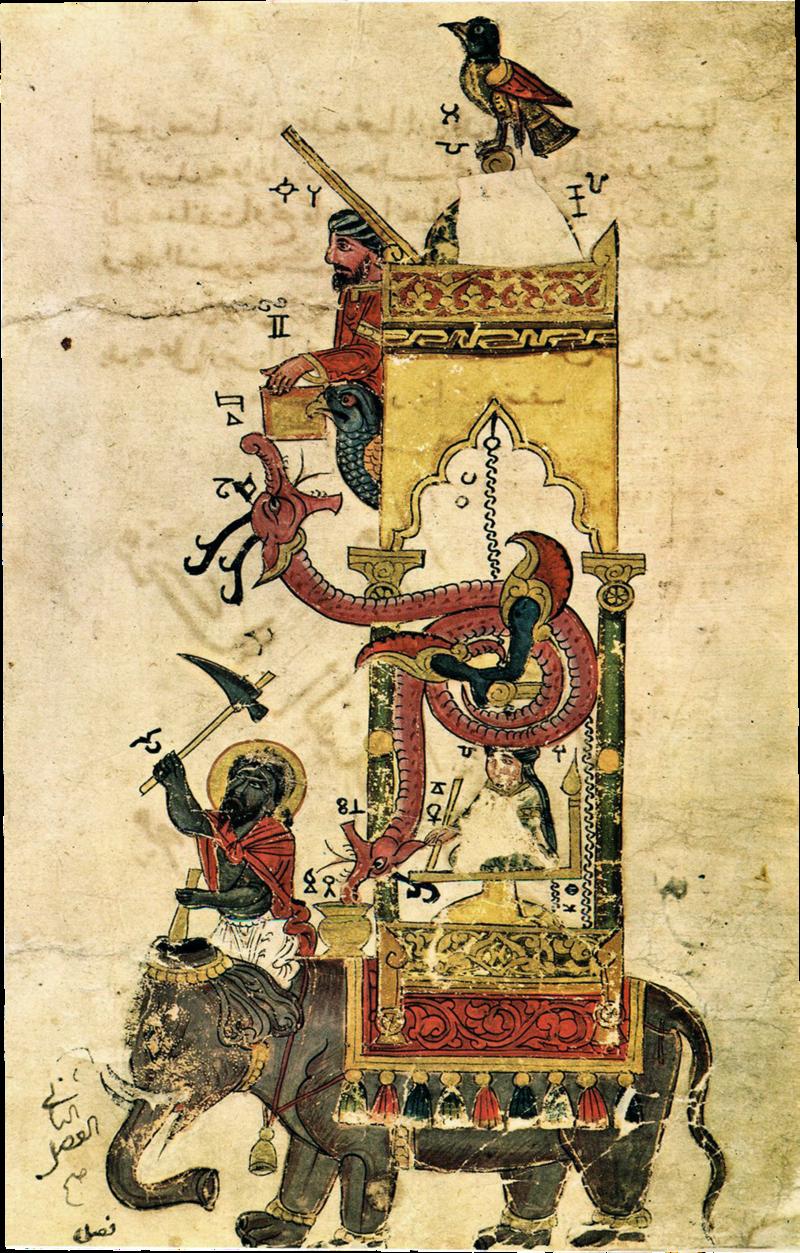 Al-jazari elephant clock.png
