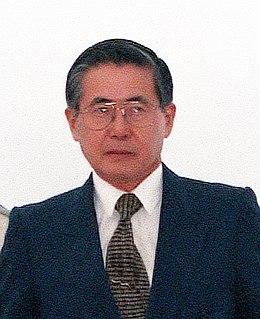 Alberto Fujimori President of Peru