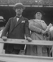 Al Smith with his wife.