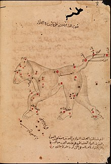Al Sufi - Book of Fixed Stars - Ursa Major (The Great Bear) - Bodleian Library - Marsh 144.jpg