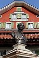 Alberik Zwyssig Denkmal und Geburtshaus in Bauen (Uri).jpg