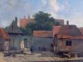 Albertus Brondgeest Vorburg Burg Altena Schuettorf 1830.png