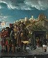 Albrecht Altdorfer - Florianslegende, Die Gefangennahme des hl. Florian auf der Ennsbrücke - 5390 - Bavarian State Painting Collections.jpg