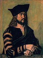Albrecht Dürer - Portrait of Elector Frederick the Wise of Saxony - WGA6914.jpg
