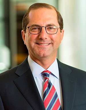 Alex Azar - Image: Alex Azar WWSG Photo (cropped)
