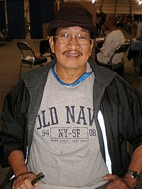 Alex Niño at Super-Con 2009.JPG