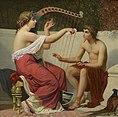Alexandre-Auguste Hirsch - Calliope Teaching Orpheus, 1865.jpg
