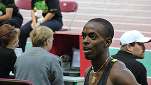 2009 Central American and Caribbean Championships in Athletics -  Cuban Alexis Copello (above) took the men's triple jump gold medal establishing a new championship record.