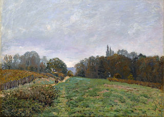 Landscape at Louveciennes