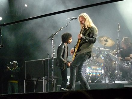 Alice in Chains performing at the Bilbao BBK Live Festival in Spain in 2010. Alice2010.jpg