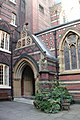 All Saints, Margaret Street, London W1 - Porch - geograph.org.uk - 1668262.jpg