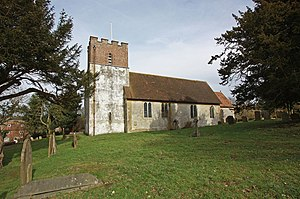Petham - The church of All Saints