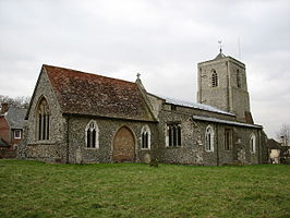 All Saints Church - Sandon, Hertfordshire - geograph.org.uk - 129449.jpg