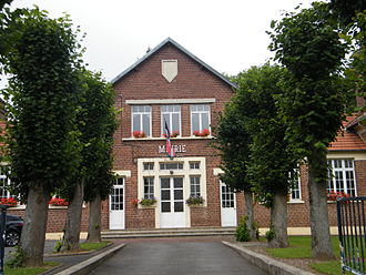Allaines - The town hall of Allaines