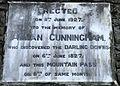 Allan Cunningham Memorial, Cunninghams Gap, Queensland 02.jpg